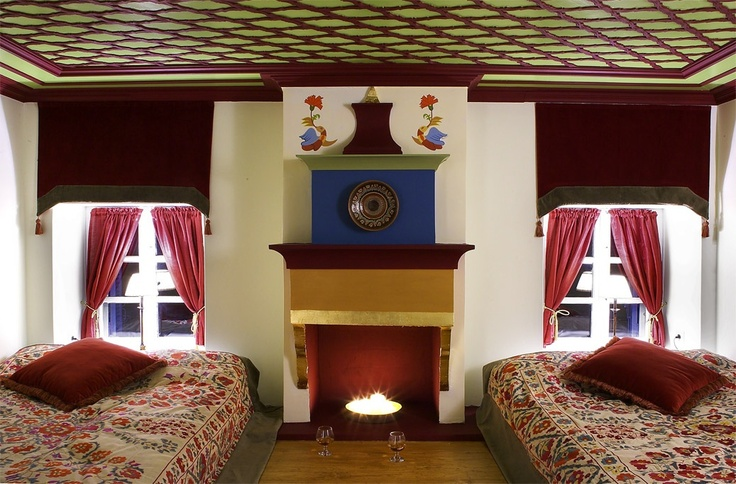 Turkish style guest room!