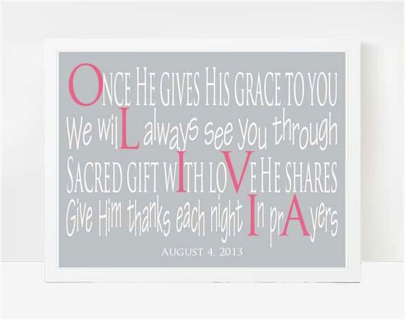 17 best olivia images on pinterest scriptures artistic tattoos items similar to gifts for baby girl newborn gift personalized gifts for girls name gifts cute baby gifts baby room wall art nursery name poem ellie on etsy negle Image collections