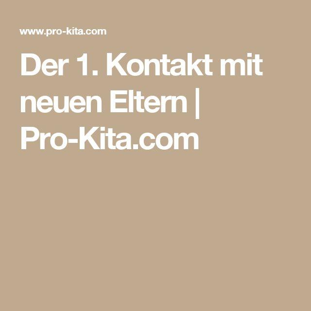 Der 1. Kontakt mit neuen Eltern | Pro-Kita.com