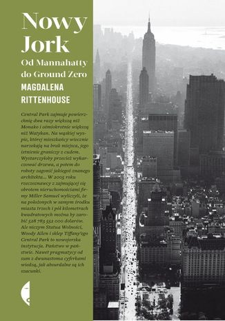 Nowy Jork. Od Mannahatty do Ground Zero - Magdalena Rittenhouse