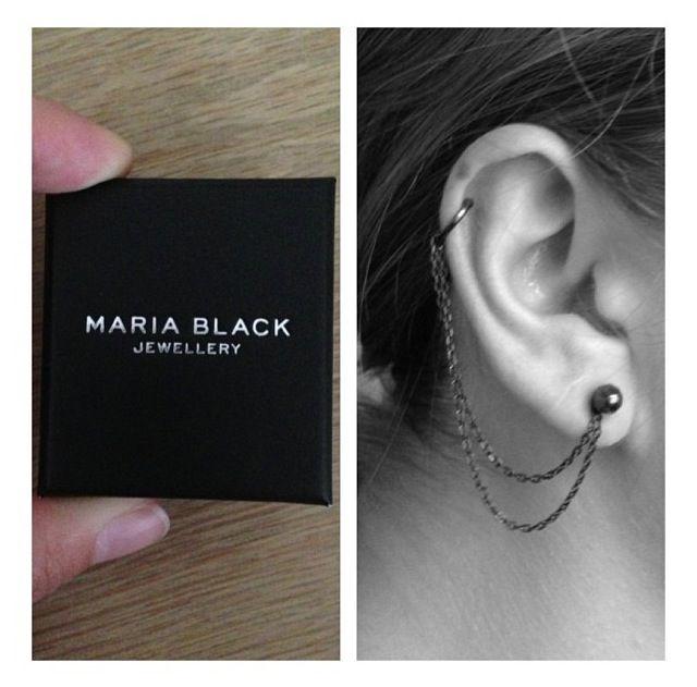 Ny new earring from Maria Black
