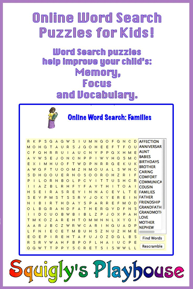 Uncategorized Free Online Kids Puzzles 23 best back to school images on pinterest draw at home and free online word search puzzle that can be played over again