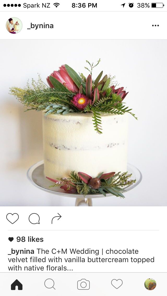 Rustic White + florals
