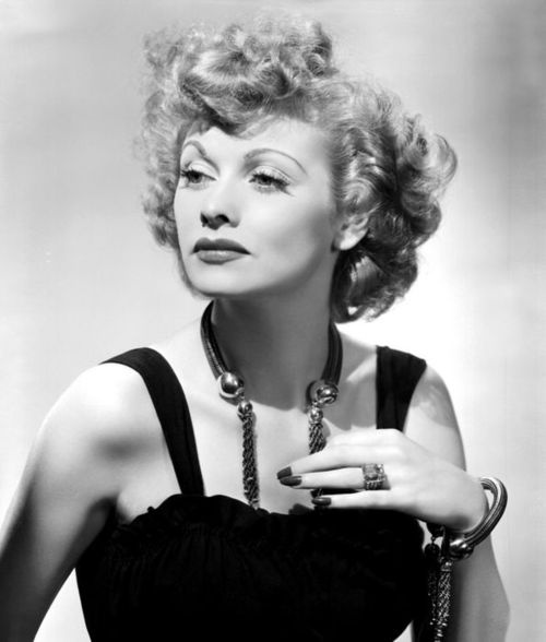 I love Lucy! The elegant and hilarious Lucille Ball.