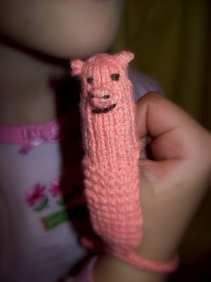 This Little Piggy... (FREE PATTERN) - to stop a child from sucking their thumb