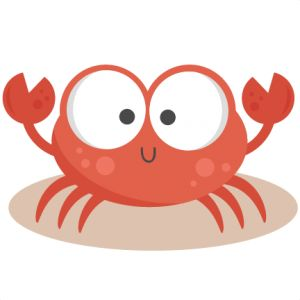 Daily Freebie 5-17-14: Miss Kate Cuttables--Crab SVG cutting files for scrapbooking ocean svg cut files ocean svg cuts beach svg files