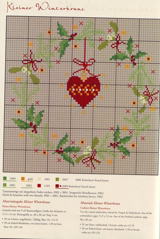 Рождественская вышивка. Обсуждение на LiveInternet - Российский Сервис Онлайн-Дневников                                                                                                                                                                                 More