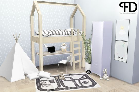 Sims 4 Cc Furniture Beds Bedroom Sets