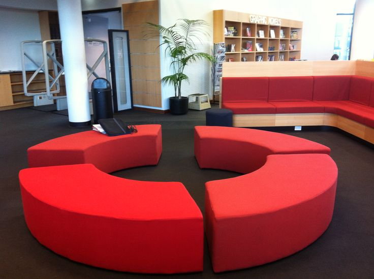 Campfire soft seating - Newington Library