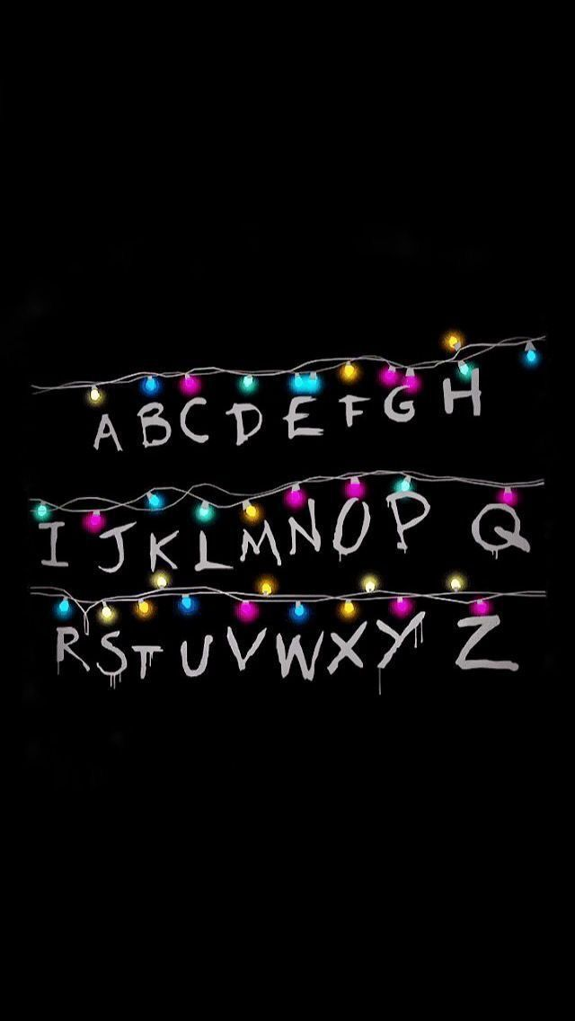 Background Stranger Things Christmas Lights Wallpaper