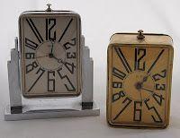 ART DECO clocks:
