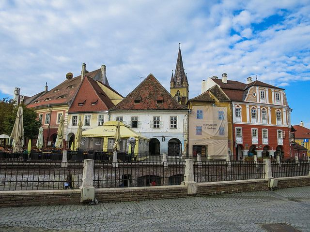 I can't wait to go back to #Sibiu and explore more of what this city has to offer! #Romania #travel #explore