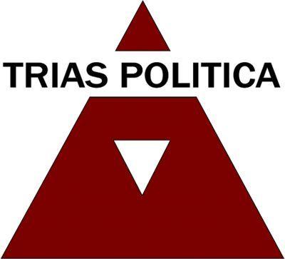 Trias Politica wordt ook wel de driemachtenleer genoemd. Trias Politica is een politiek systeem dat er voor zorgt dat de macht in drie delen is verdeeld: 'De wetgevende macht, de uitvoerende macht en de rechterlijke macht.' Het idee achter de Trias Politica was dat niet een macht de overhand zou krijgen. De Trias politica is een belangrijk onderdeel geweest in de ontwikkeling van de democratie.