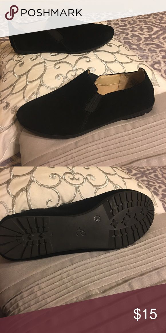 Easy Spirit black suede loafers Very comfy nice to wear Easy Spirit Shoes Flats & Loafers