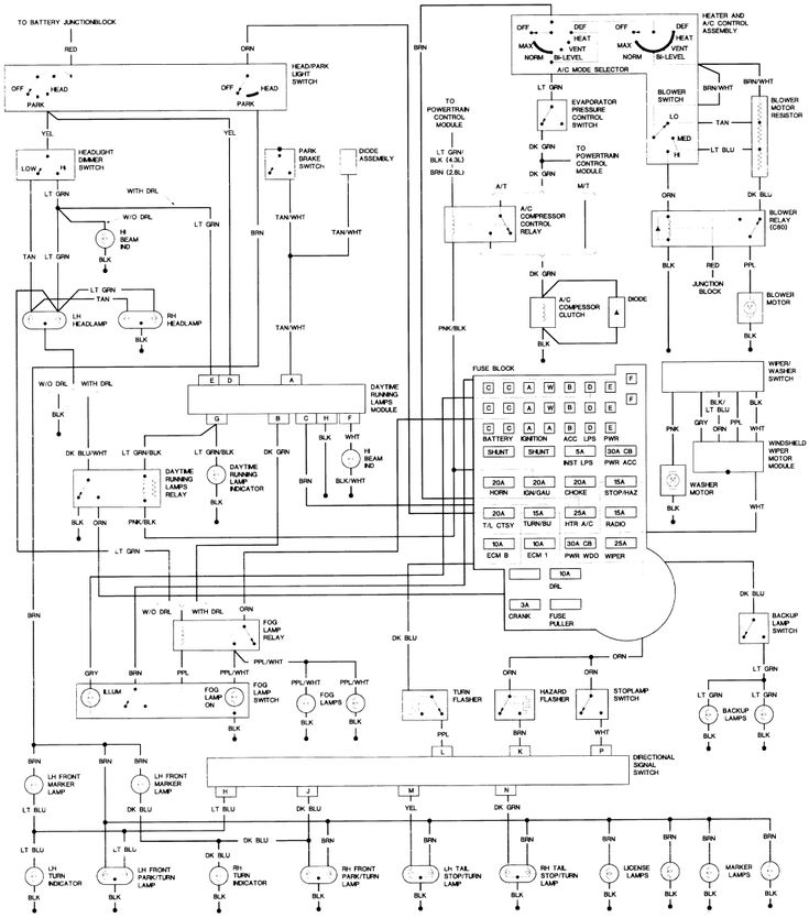 Horton Wiring Diagram
