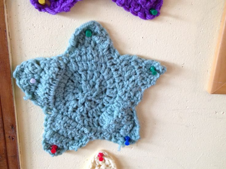 Crochet Knit Stitch Waldorf : Waldorf School of Garden City. Crochet Star. The children crochet ...