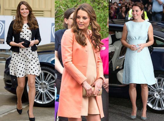 Kate Middleton Is Pregnant With Royal Baby No. 2: Let's Look Back at the Duchess of Cambridge's Maternity Style