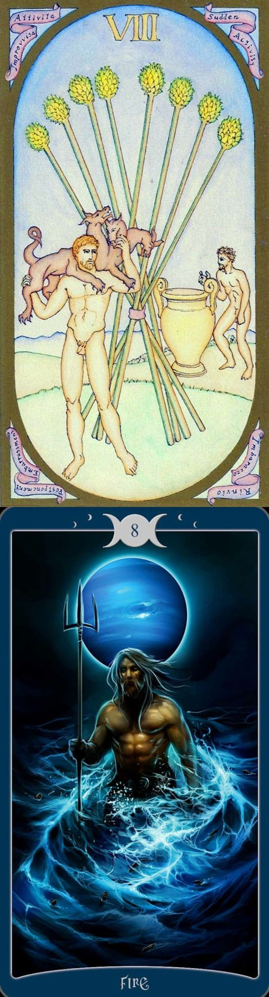 Eight of Wands: rapid action and delays (reverse). Renaissance Tarot deck and Book Of Shadows Tarot deck: tarotmirror of the soul, best free tarot card reading and free tarot reading ask a question. Best 2017 halloween food and fortune telling machine.