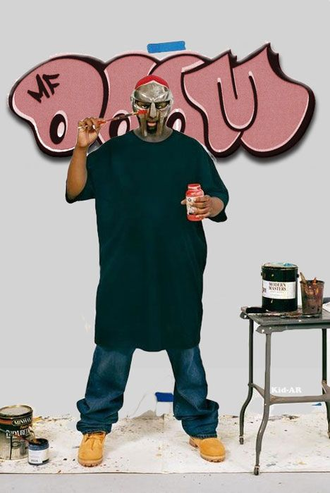 1000 images about graffiti on pinterest for Mf doom tattoo