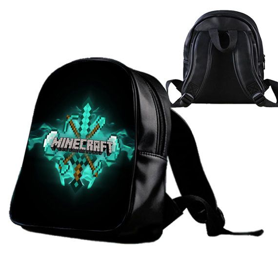 Diamond Minecraft  Backpack/Schoolbags for kids. by Wonderfunny #Minecraft #backpack #schoolbags #gift #birthday