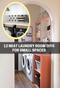 Diy Ify 12 Neat Laundry Room Diys For Small Spaces