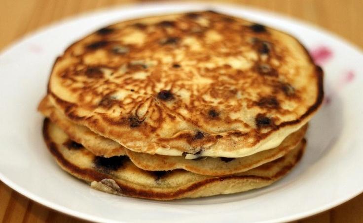 Recette Pancakes aux bleuets protéinés