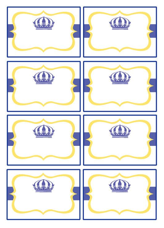 Baby Boy Printable baby shower Labels Party Cards Labels Candy Buffet Royal Blue Boy Birthday Baby Shower Christening Baptism Ideas Party on Etsy, $6.00