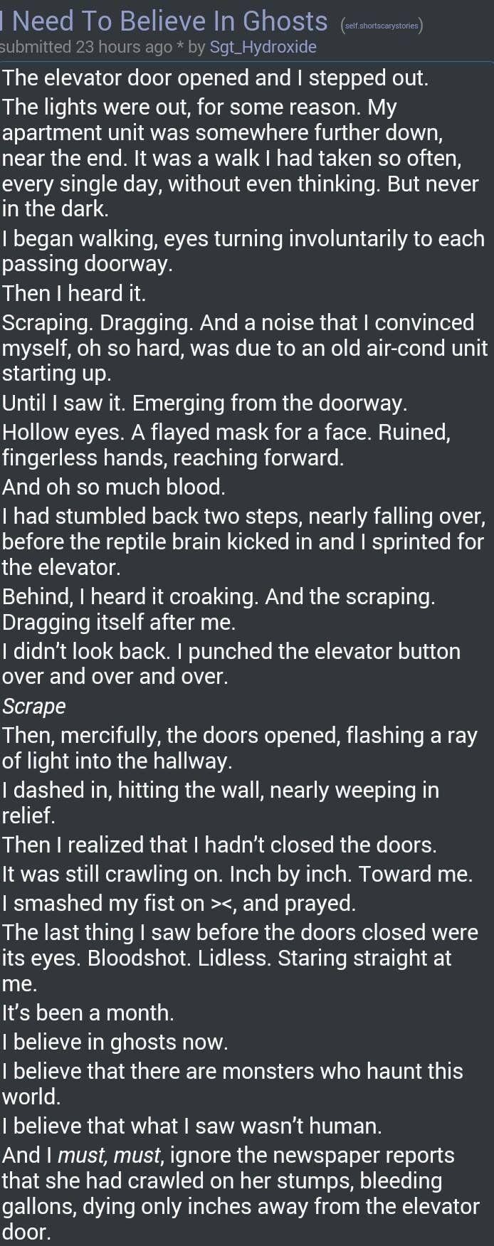 Remarkable, creepypasta sex stories