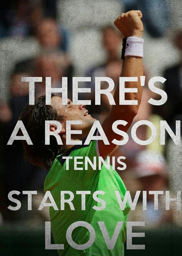 there's a reason tennis starts with love