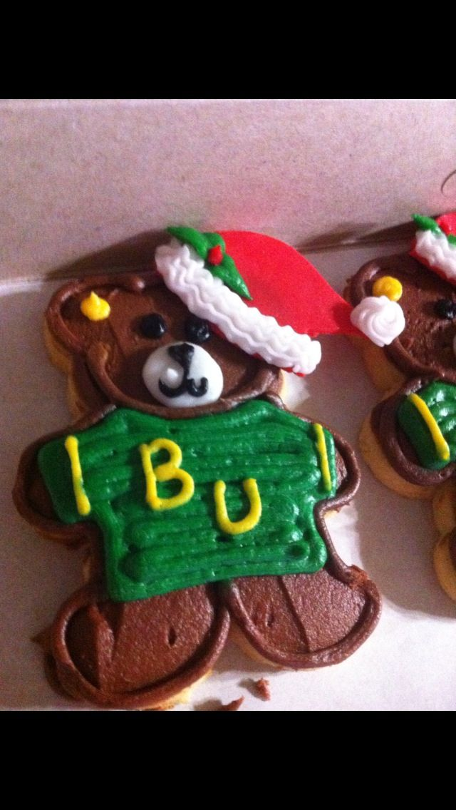 All I want for Christmas is to attend another #Baylor bowl game.Baylor Bowls, Bears Cookies, Baylor Cookies, Ems Bears, Bears Rocks, Baylor Girls, Baylor Stuff, Baylor Universe, Baylor Bears