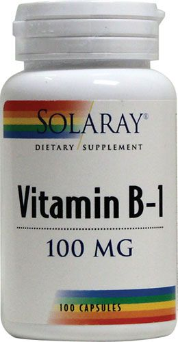 Solaray Vitamin B-1 THIS PROVIDES WELLBEING AND GETS YOUR ENERGY UP I LOVE THIS SUPP. AT MY SICKEST I SLEPT 22 HRS A DAY OR I COULD NOT SLEEP AT ALL.