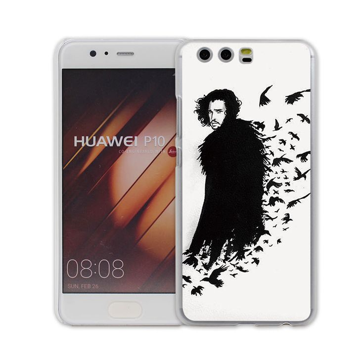 Cool Art Game Of Thrones jon snow design transparent clear hard case cover for Huawei P10 P9 Plus P8 P9 lite Mate S 9 8 - Direwolf Shop Direwolf Shop