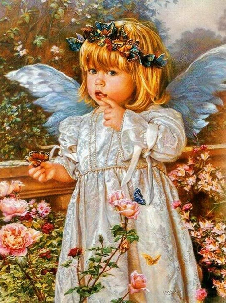 Ангелочек фото картинки красивые