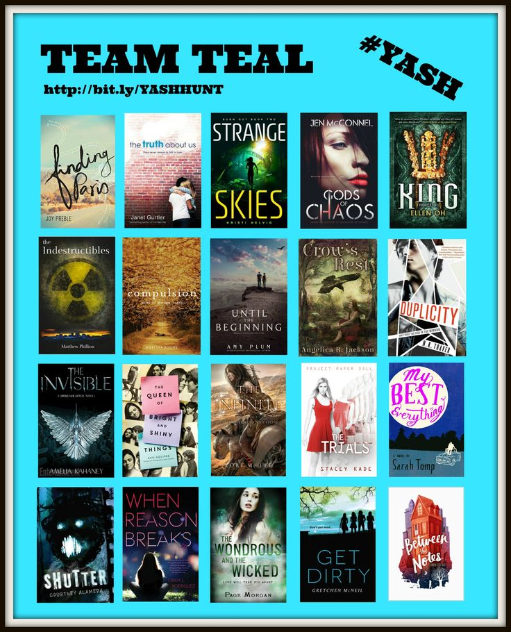 Make sure to check out the 2105 Spring Ya Scavenger Hunt! Jen McConnel is on Team Teal! #YASH