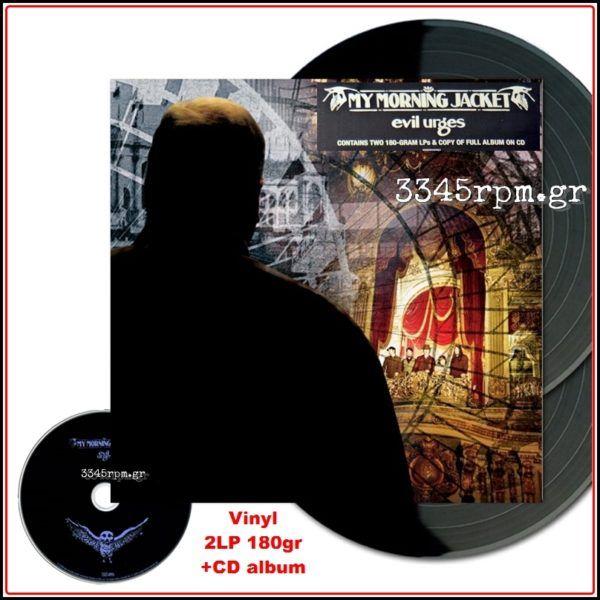 My Morning Jacket - Evil Urges - Vinyl 2LP 180gr & CD