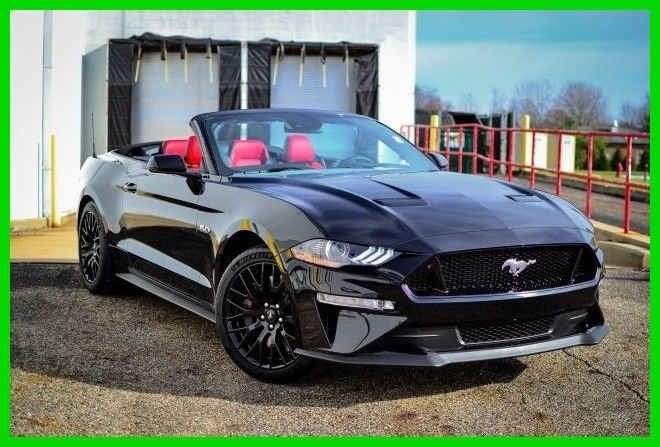 Ebay 2018 Ford Mustang Gt Premium Convertible 2018 Mustang Gt Premium Convertible 5 0l V8 10 Speed A Ford Mustang Convertible Ford Mustang Mustang Convertible