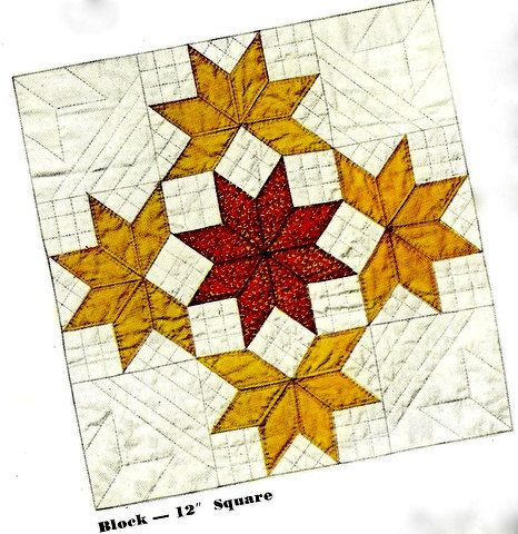 Yankee Pride Quilt Pattern Instructions 721007