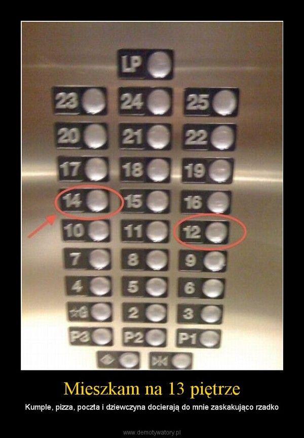 Mieszkam na 13 piętrze – Kumple, pizza, poczta i dziewczyna docierają do mnie zaskakująco rzadko