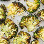 Asiago Roasted Broccoli