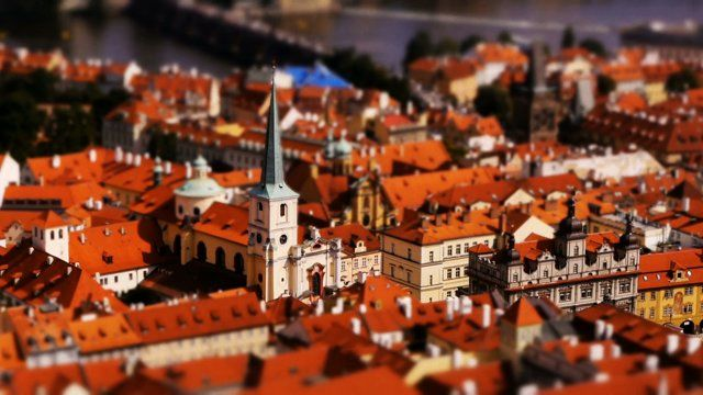 """Prague, the Czech capital, is also known as the """"Golden City"""". Take a boat ride on the Vltava and travel through this amazing city and see all the major attractions from incredible vantage points. The busy Charles Bridge has never looked more adorable. A time-lapse tilt-shift film by Joerg Daiber.  Facebook: https://www.facebook.com/MiniatureFilms Twitter: http://www.twitter.com/spoonfilm YouTube: http://www.youtube.com/littlebigworld Web: http://www.spoonfilm.com  You can ..."""