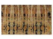 Patterned rectangular rug IKAT CARPETS - EBRU