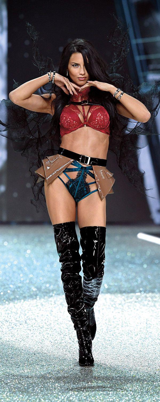 Adriana Lima: Part superhero, part Secret Angel, all fabulous. | Own The Look: Victoria's Secret Fashion Show
