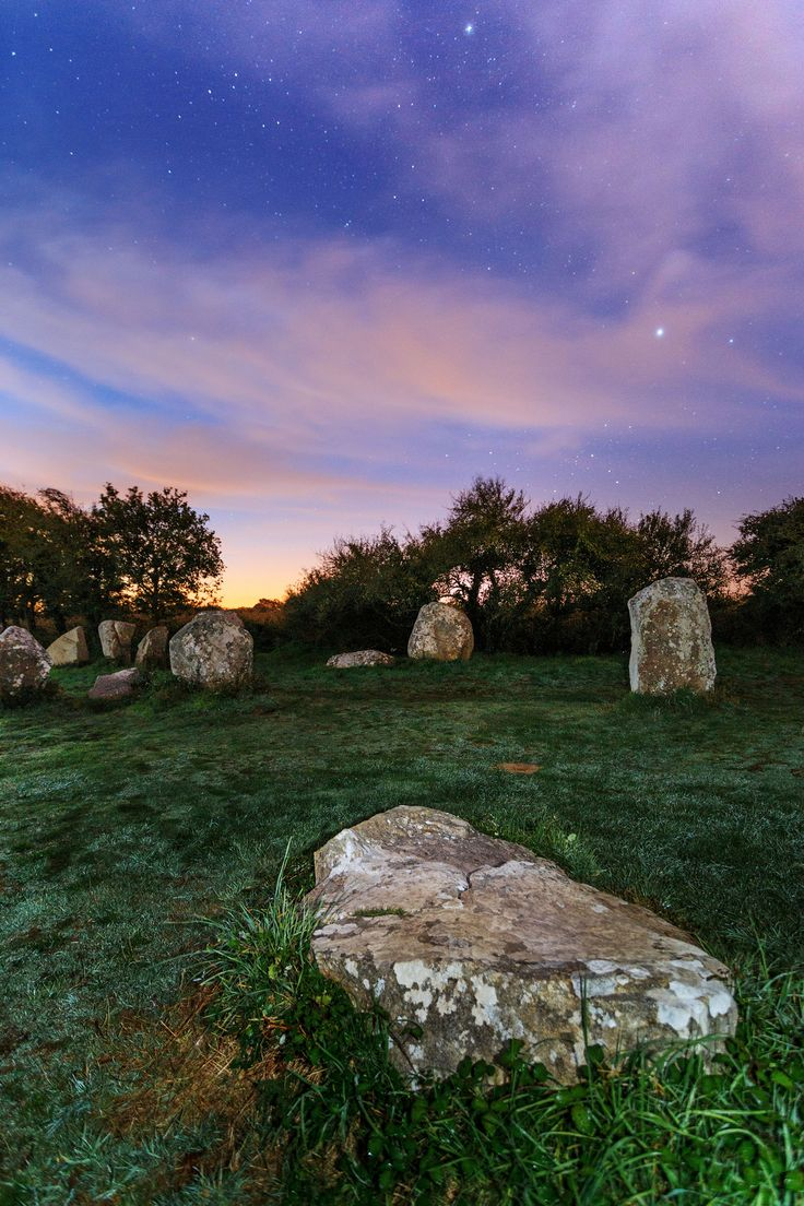 Megalithes d'Erdeven, #Morbihan.