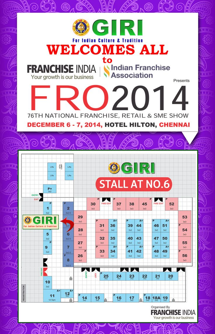 Franchise India expo in Hilton hotel @ December 6th and 7th