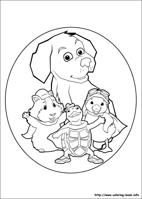 45 Wonder Pets Printable Coloring Pages For Kids Find On Book Thousands Of