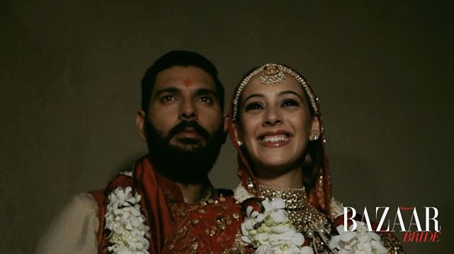 Yuvraj Singh and Hazel keech 's wedding teaser-Love triumphs all. Cultures unite and all that you feel is love. @yuvisofficial & @hazelkeechofficial tied the knot for the second time in Goa, and let us #BazaarBrideIn be a part of the celebrations!  We wish this gorgeous couple the best of everything always.  #BazaarBrideAtYuvrajHazel #nupurmehta18  Video by @artfotostudios  @nupurmehta18