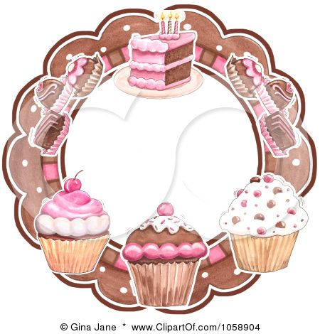 Bakery art | 1058904-Royalty-Free-Clip-Art-Illustration-Of-A-Circular-Logo-Of ...
