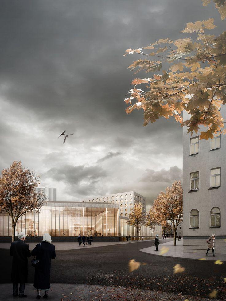 Wettbewerb für Theatersanierung entschieden / Zwei Erste in Karlsruhe - Architektur und Architekten - News / Meldungen / Nachrichten - BauNetz.de