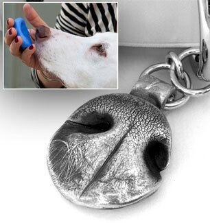 Dog nose print jewelry