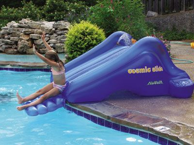 Best 25 above ground pool slide ideas on pinterest - Swimming pool supply stores near me ...